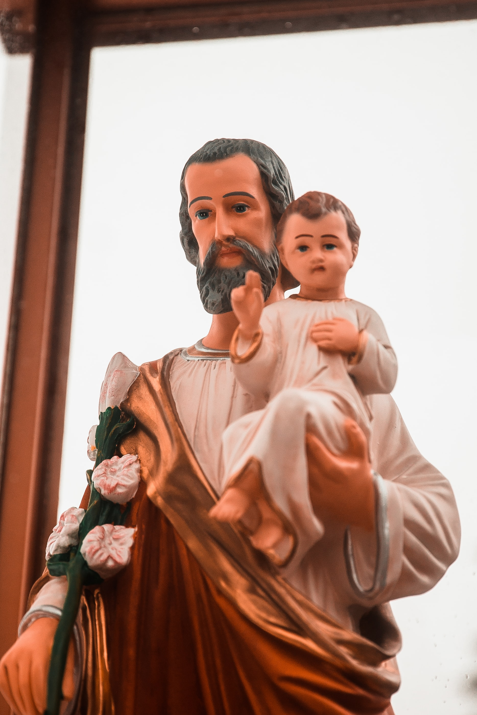 St. Joseph Formed Jesus as a Man